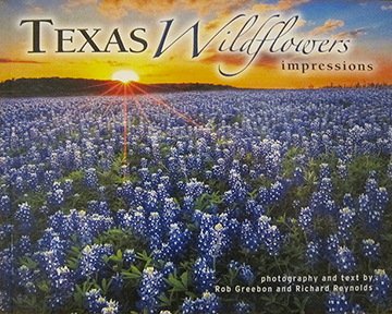 An image book showcasing Texas Wildflowers from across the state.