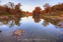 Autumn Colors in the Texas Hill Country