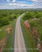 Bluebonnet Drive from the Sky 407-1