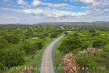 Bluebonnet Drive from the Sky 407-2