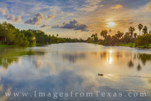 resaca, brownsville, rio grande, cameron county, water, waterways, sunset, south texas, peace, duck