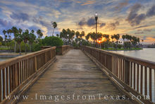 brownsville texas, brownsville, south texas, texas coast, resaca, border town, bridge, water, sunset