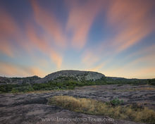 Enchanted Rock after Sunset 916