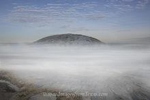 Enchanted Rock in Morning Fog