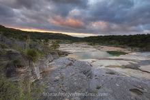 Pedernales Falls Cloudy Sunrise 1