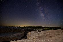 Pedernales Falls Under the Milky Way