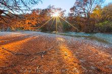 Pedernales Falls Autumn Orange