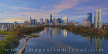 austin skyline, aerial photography, austin aerial, autumn, november, fall colors, ladybird lake, town lake, boardwalk, evening, downtown austin, jenga tower, austonian, drone