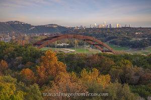 360 Bridge Fall Colors at Sunset 2