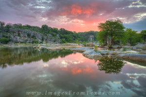 April Sunrise 1 - Pedernales Falls