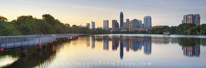 Austin Skyline Pano from the Boardwalk 1