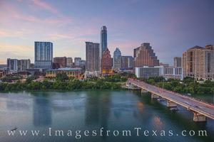 Austin Skyline Evening 729-1