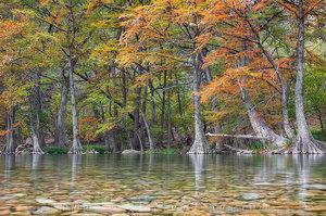 Autumn Colors at Garner State Park 1