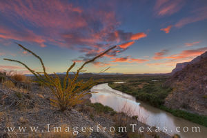 Autumn Sunrise at Santa Elena Canyon 2