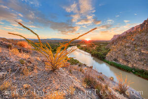 Autumn Sunrise at Santa Elena Canyon 3