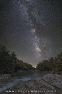 Barton Creek Under the Milky Way 1