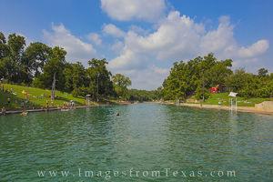 Barton Springs Pool Summer 2