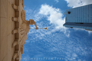 Bass Hall Angels in Downtown Ft Worth 3