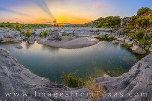 Bend in the River - Pedernales Falls Sunset 22