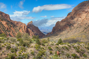 Big Bend  - Afternoon at the Window 1