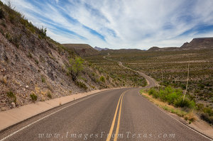 Big Bend National Park Images - The Road