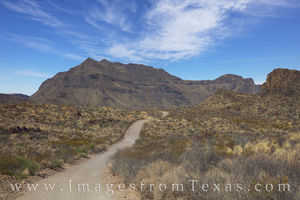 Big Bend Ranch Main Road from Sauceda 1