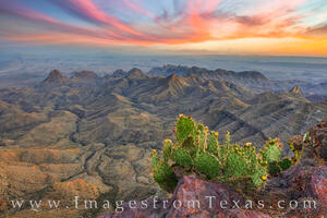 Big Bend South Rim at Sunset 2