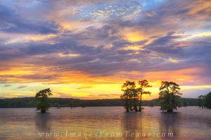 Caddo Lake Sunset 3