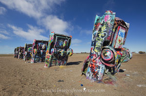 Cadillac Ranch, Amarillo Texas 2