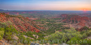 Caprock Canyons Sunrise Panorama 106-1