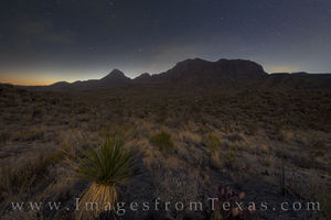Chisos Mountains before Dawn 1