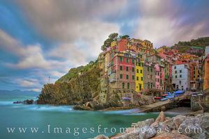 Cinque Terre, Italy - Riomaggiore Morning 1