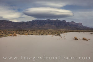 Clouds over the Guadalupe Mountains 3