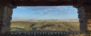 Davis Mountains Overlook Panorama 1