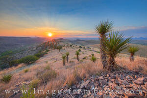 Davis Mountains Sunrise 1