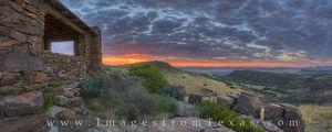 Davis Mountains Sunrise Panorama 1