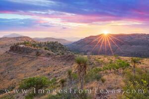 Davis Mountains Sunset 2