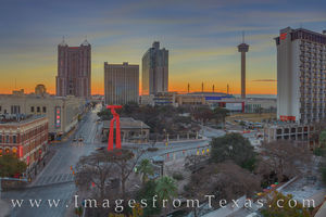 Downtown San Antonio before Sunrise 123-2