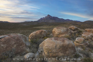 El Capitan Evening, Guadalupe Mountains National Park 1