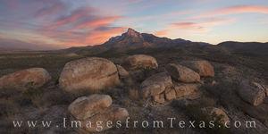 El Capitan Sunrise, Guadalupe Mountains 1