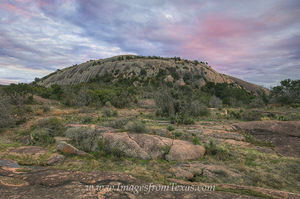 Enchanted Rock November Evening 1