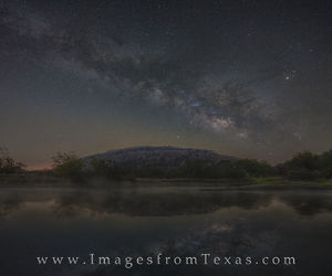 The Milky Way over Texas
