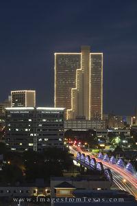 Fort Worth Skyline with Burnett Plaza 2