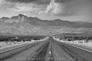 Guadalupe Mountains - Road to El Capitan