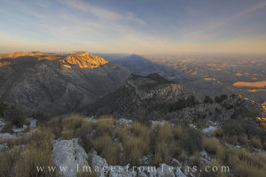 Guadalupe Peak Shadow