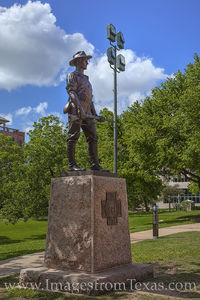 Hiker-Spanish American War Monument 1