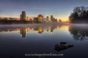 January Sunrise in Austin, Texas 1