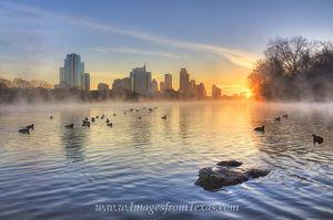 January Sunrise in Austin Texas 5
