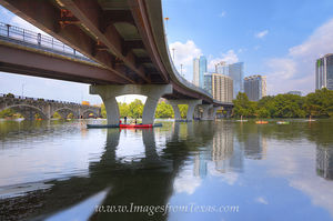 Lady Bird Lake, Austin Texas, Summer Day