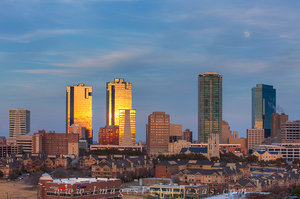 Late Afternoon Skyline of Ft Worth Tx 2